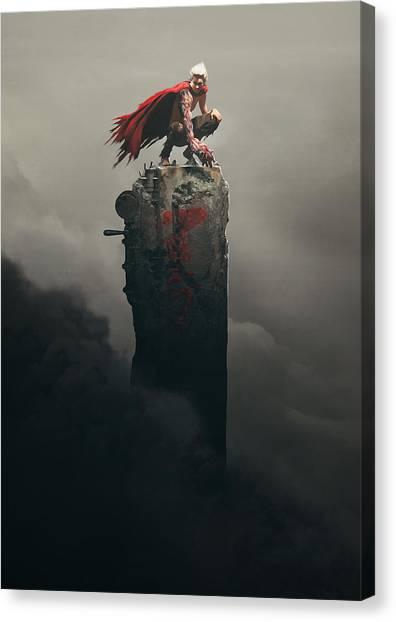 Apocalypse Canvas Print - Tetsuo Shima by Guillem H Pongiluppi