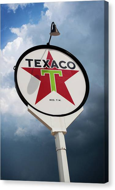 Texaco Star Canvas Print by Bud Simpson