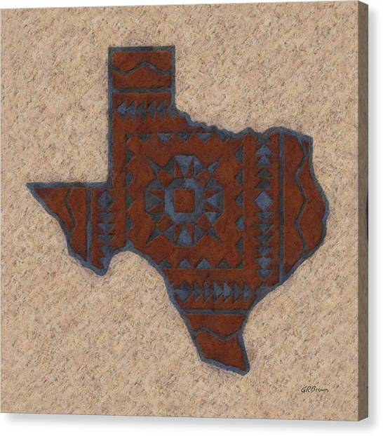 Texas 1 Canvas Print