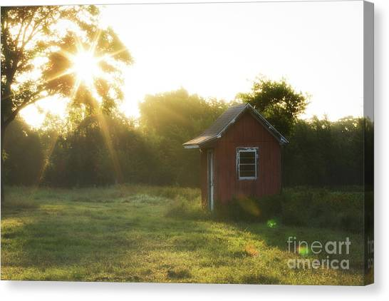 Texas Farm Canvas Print