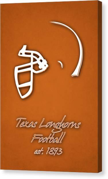 Texas State University Texas State Canvas Print - Texas Longhorns by Joe Hamilton