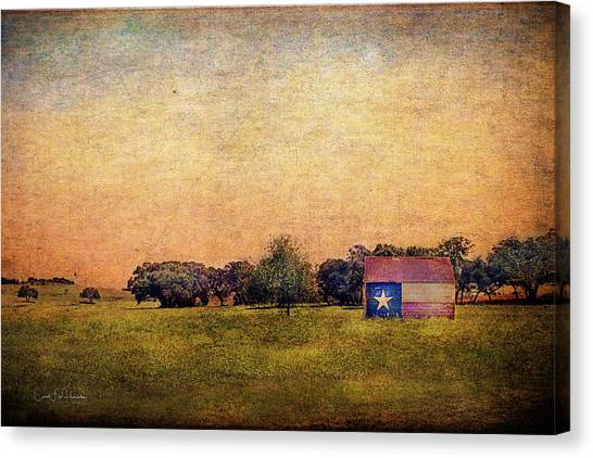 Texas Morn' Canvas Print