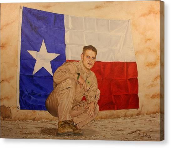 Texas Pride Canvas Print