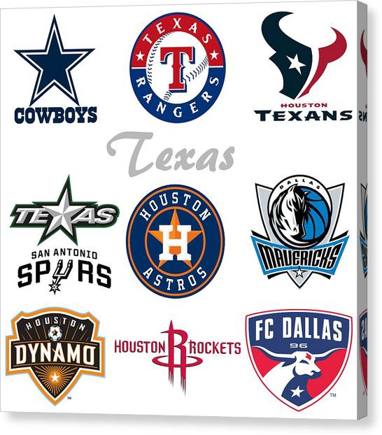 Fc Dallas Canvas Print - Texas Professional Sport Teams by Movie Poster Prints