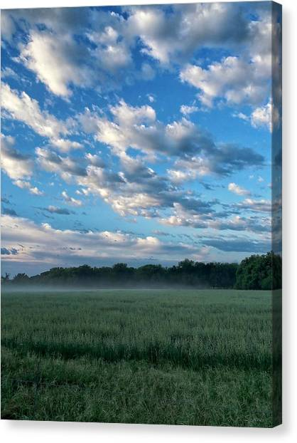 Texas Sky Canvas Print