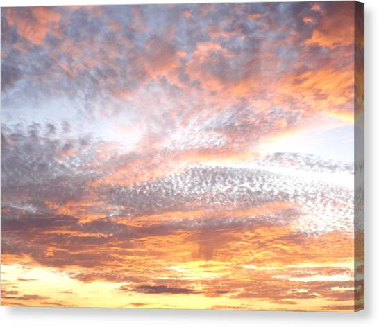 Texas Sky Canvas Print by Ursula Wright