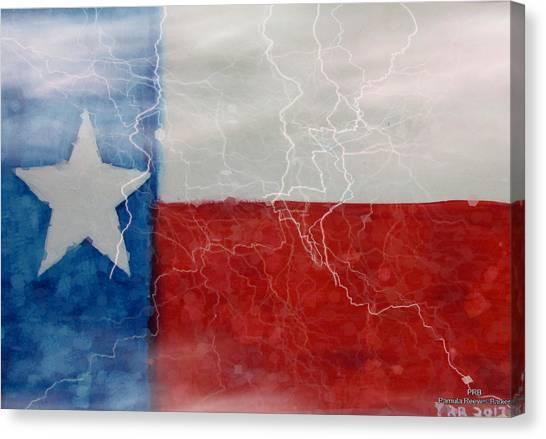 Canvas Print - Texas Storm by Pamula Reeves-Barker