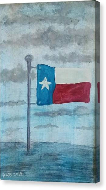 Canvas Print - Texas Strong  by Pamula Reeves-Barker