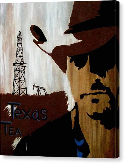 Texas Tea  Canvas Print