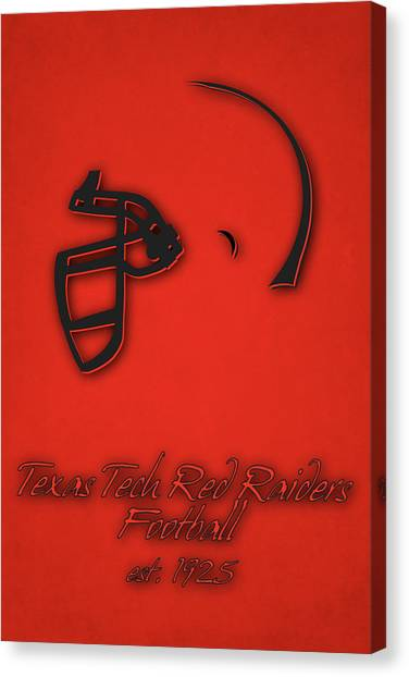 Texas State University Texas State Canvas Print - Texas Tech Red Raiders by Joe Hamilton