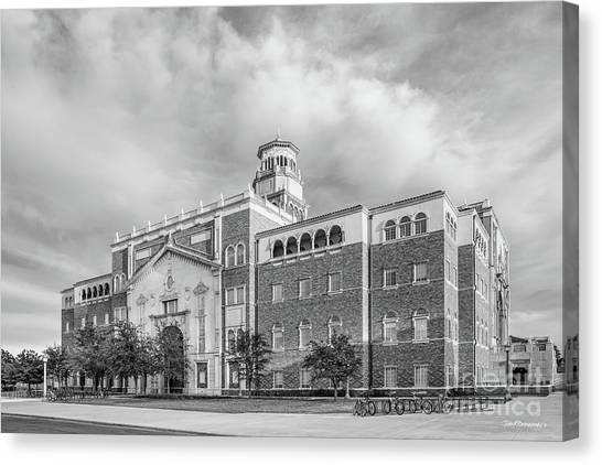 Texas Tech University Canvas Print - Texas Tech University English - Philosphy Building  by University Icons