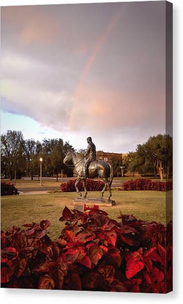 Texas State University Texas State Canvas Print - Texas Tech University by Ilker Goksen
