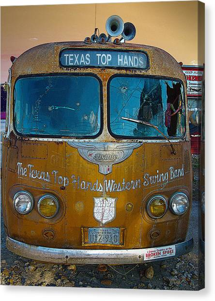 Texas Top Hands Canvas Print