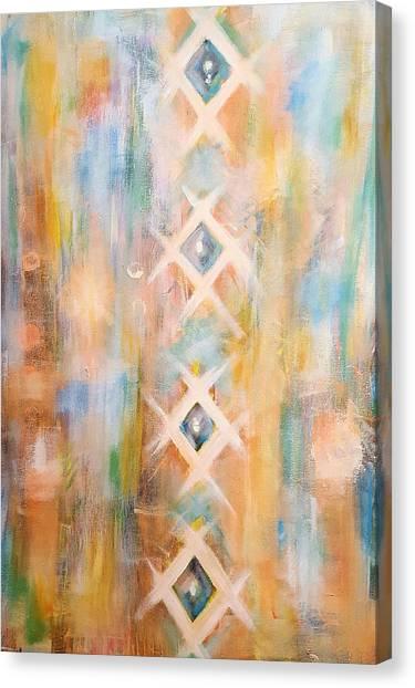 Textile  Canvas Print by Pia Tohveri