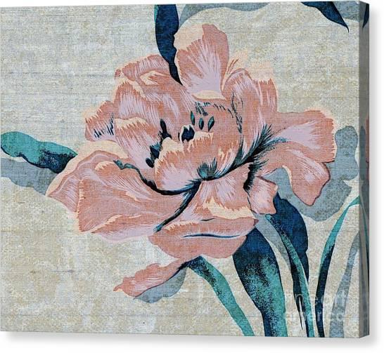 Textured Floral No.2 Canvas Print