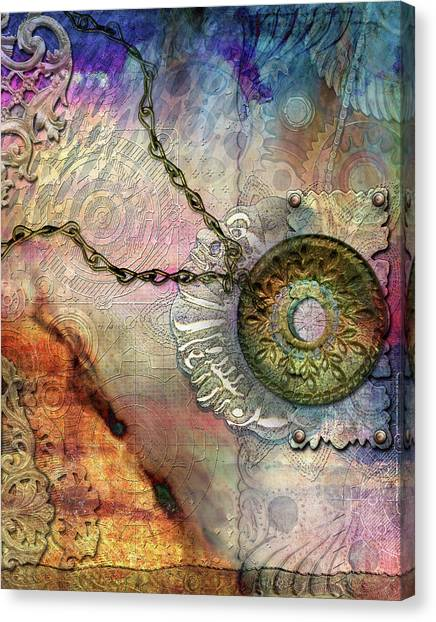 Textured Past Canvas Print
