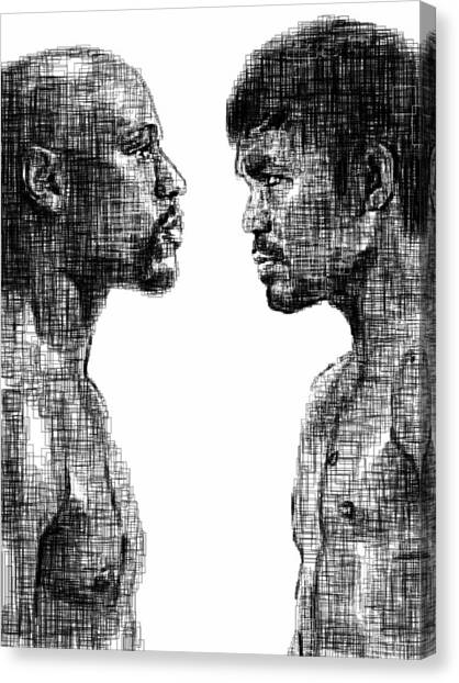 Manny Pacquiao Canvas Print - Tfotc by Harold Belarmino