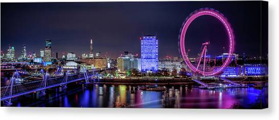 Thames Panorama Canvas Print