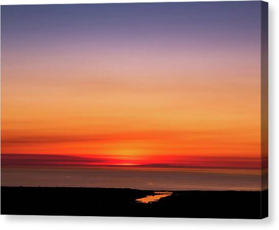 Canvas Print featuring the photograph That's A Wrap by Alison Frank