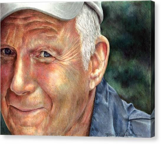 That's My Dad Canvas Print by Melissa J Szymanski