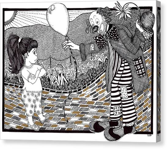 Thats Not A Hot Air Balloon Canvas Print by Lenora Brown