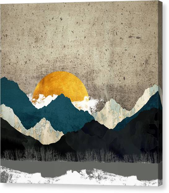 Landscapes Canvas Print - Thaw by Katherine Smit