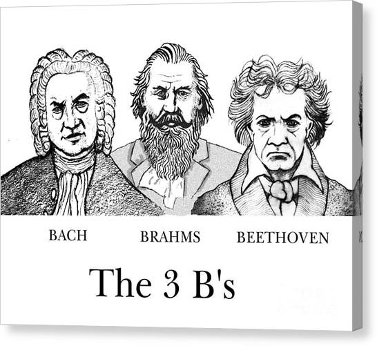The 3 B's Canvas Print by Paul Helm