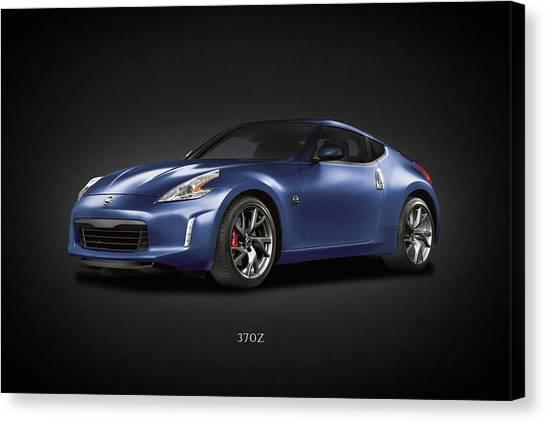 Nissan Z Canvas Print   The 370z By Mark Rogan