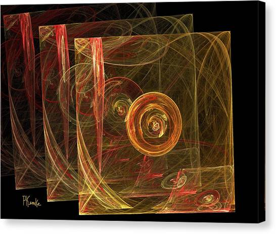 The 3d Envelope Canvas Print