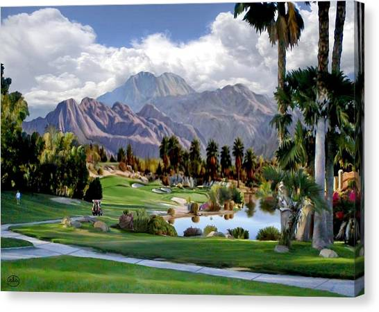 The 5th At Woodhaven Canvas Print