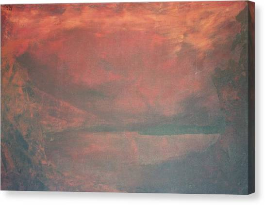 The Abyss Canvas Print by Peta Mccabe