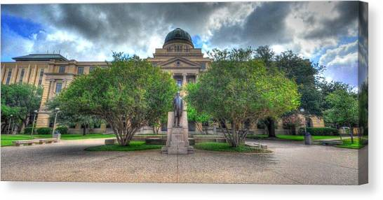 The Academic Building Canvas Print