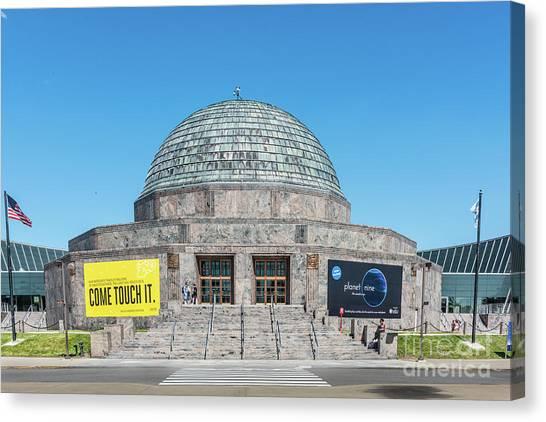 The Adler Planetarium Canvas Print