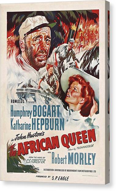 The African Queen B Canvas Print