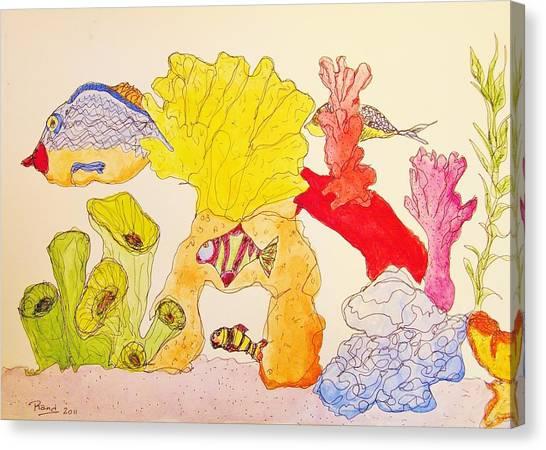 The Age Of Aquarium Canvas Print