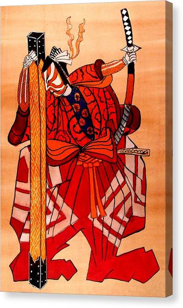 The Age Of The Samurai 04 Canvas Print