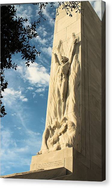 The Alamo Cenotaph Canvas Print