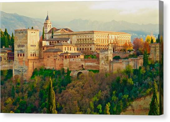 The Alhambra  Canvas Print
