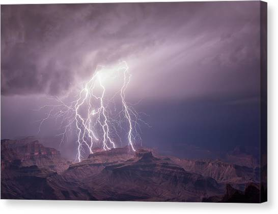 The All Spark Canvas Print