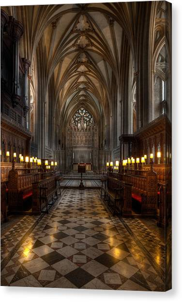 Bristol Canvas Print - The Altar by Adrian Evans