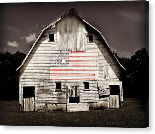 The American Farm Canvas Print