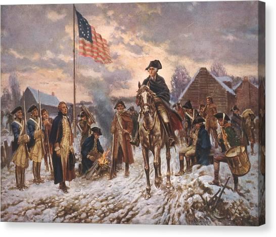 Moran Canvas Print - The American Revolution, George by Everett