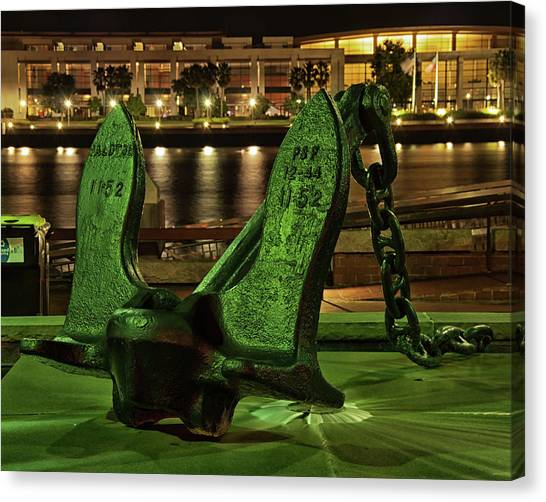 The Anchor Monument Canvas Print