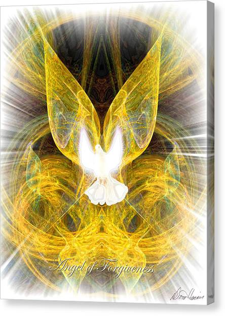 The Angel Of Forgiveness Canvas Print