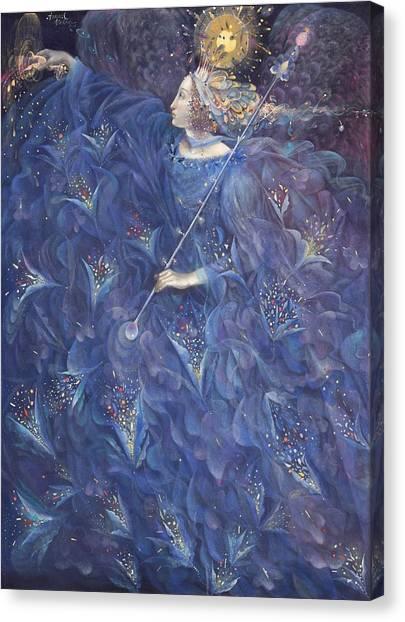Sprite Canvas Print - The Angel Of Power by Annael Anelia Pavlova