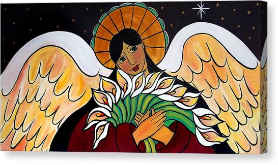The Angel Of The Resurrection Canvas Print