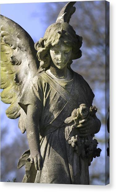 The Angel's Blessing Canvas Print