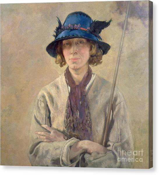 Angler Art Canvas Print - The Angler, 1912 by Sir William Orpen