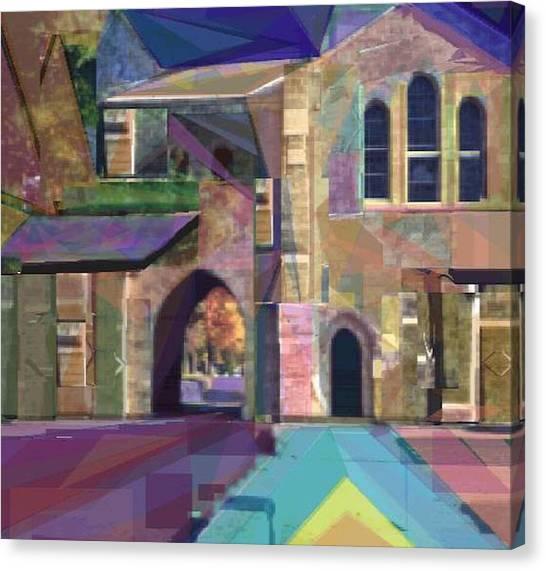 The Annex Canvas Print