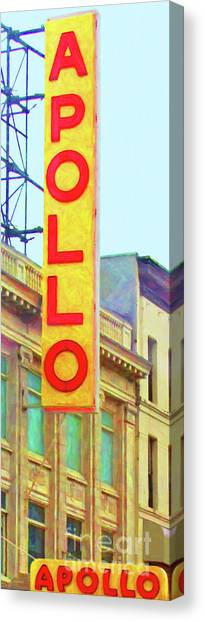 Apollo Theater Canvas Print - The Apollo Theater In Harlem Neighborhood Of Manhattan New York City 20180501 by Wingsdomain Art and Photography